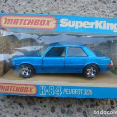 Motos a escala: PEUGEOT 305 - SERIE SUPER KINGS - MATCHBOX. Lote 205740577