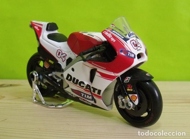Motos a escala: Moto Ducati a escala - Moto GP - Maisto - Foto 2 - 206179686