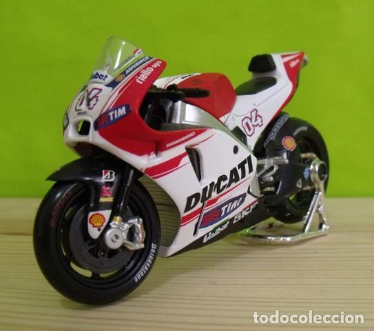 MOTO DUCATI A ESCALA - MOTO GP - MAISTO (Juguetes - Motos a Escala)