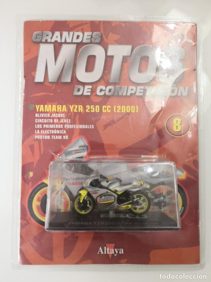 FASCICULO GRANDES MOTOS DE COMPETICION YAMAHA YZR 250 CC 2000 ALTAYA (Juguetes - Motos a Escala)