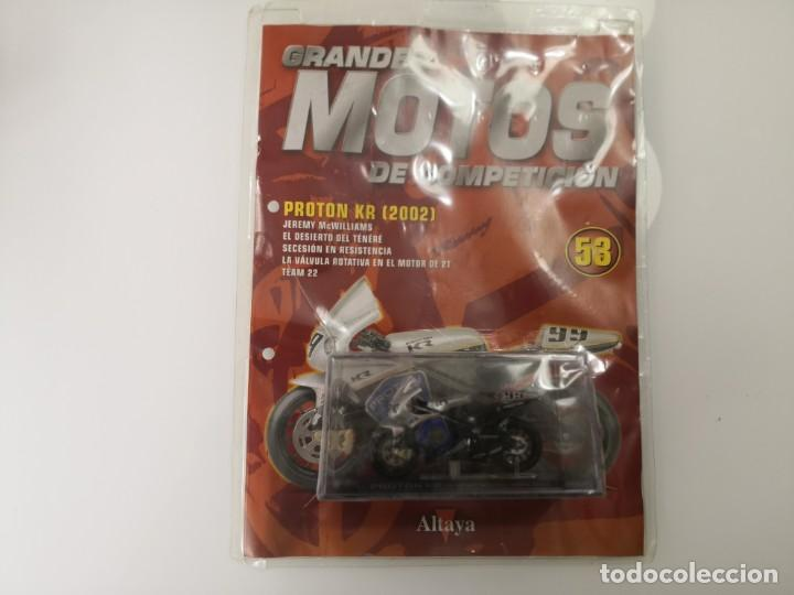 FASCICULO GRANDES MOTOS DE COMPETICION PROTON KR 2002 ALTAYA (Juguetes - Motos a Escala)