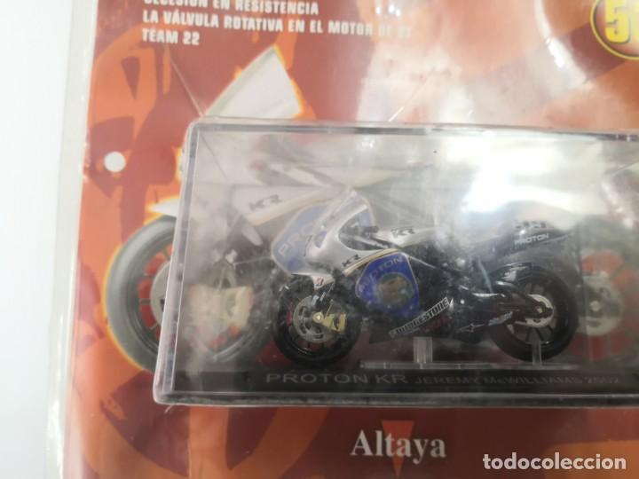 Motos a escala: FASCICULO GRANDES MOTOS DE COMPETICION PROTON KR 2002 ALTAYA - Foto 2 - 206297290