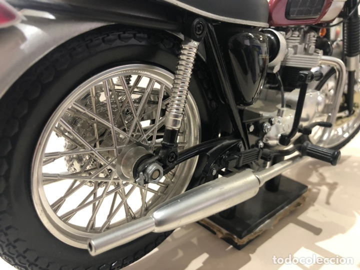 Motos a escala: Réplica Triumph Bouneville - Foto 6 - 206360277