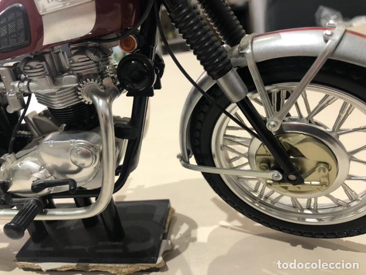 Motos a escala: Réplica Triumph Bouneville - Foto 7 - 206360277