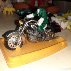 Motos a escala: GUISVAL,ANTIGUA MOTOCICLETA HARLEY DAVIDSON.AÑOS 70.. Lote 206436507