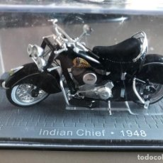 Motos a escala: MOTO INDIAN CHIEF - 1948. Lote 207152253