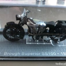 Motos a escala: MOTO BROUGH SUPERIOR SS100 - 1926. Lote 207152285