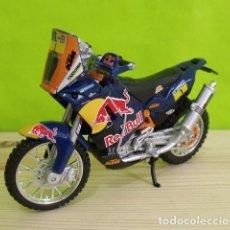 Motos a escala: MOTO KTM 450 RALLY A ESCALA - DAKAR - BURAGO. Lote 207990846