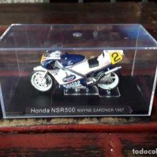 Motos a escala: MOTO HONDA NSR500 WAYNE GARDNER (1987). Lote 208370295