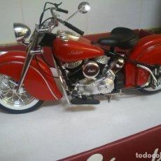 Motos a escala: MOTO INDIAN CHIEF 1948 348, ESCALA 1/6 MARCA GUILOY ,NUEVA SIN CAJA. Lote 208591533