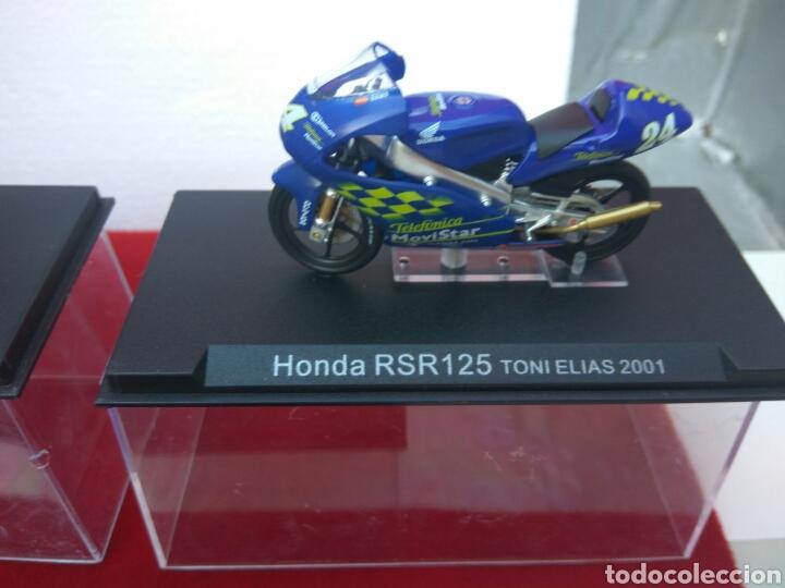Motos a escala: MOTO HONDA 500 A ESCALA DOOHAN-ELIAS-BARROS LOTE DE 3 - Foto 3 - 209793013