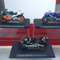 Motos a escala: MOTO HONDA 500 A ESCALA DOOHAN-ELIAS-BARROS LOTE DE 3. Lote 209793013