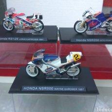 Motos a escala: MOTO HONDA 125-250-500 A ESCALA LOTE DE 3 CAPIROSI PONS GARDNER. Lote 209793766