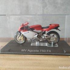 Motos a escala: MV AGUSTA 750 F4. MOTO ESCALA 1:24. Lote 210378045