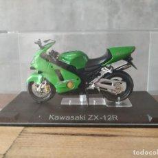 Motos a escala: KAWASAKI ZX 12R. MOTO ESCALA 1:24. Lote 210378726