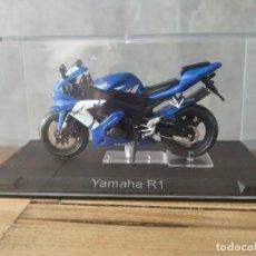 Motos a escala: YAMAHA R1. MOTO ESCALA 1:24. Lote 210378835