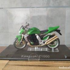 Motos a escala: KAWASAKI Z1000. MOTO ESCALA 1:24. Lote 210379073