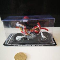 Motos a escala: NUEVO MOTO KTM GUISVAL EN SU BLISTER SIN ABRIR MOTOCROSS CROSS MINIATURAS EN METAL. Lote 210771410