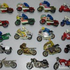 Motos a escala: LOTE 19 MOTOS DE GUISVAL,SIRO,BMW,BULTACO,SUZUKI,DUCATI,HONDA,MOTOGUZZI,HARLEY,YAMAHA,MOTOCICLETA. Lote 36325327
