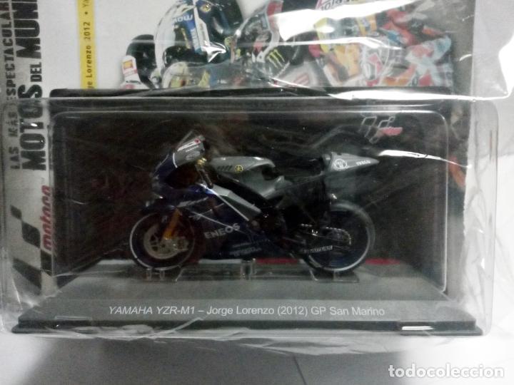 MGP 45 YAMAHA YZR-M1 JORGE LORENZO 2012 GP SAN MARINO MOTO GP ALTAYA 1:18