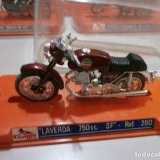 Motos a escala: GUILOY LAVERDA 750CC SF REF 280. Lote 212615178