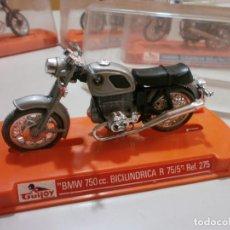 Motos a escala: GUILOY BMW 750CC BICILINDRICA R 75/5 REF 275. Lote 212615365