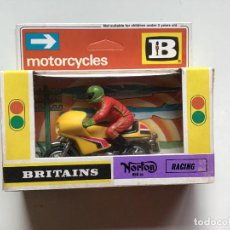 Motos a escala: MOTO RACING NORTON BRITAINS 1:32. Lote 213795378
