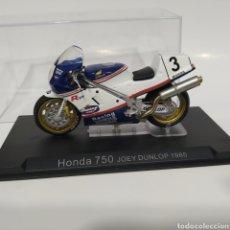 Motos a escala: MOTO HONDA 750 JOEY DUNLOP, ROTHMANS RACING 1985. Lote 215305647