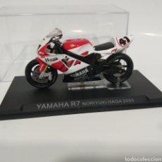 Motos a escala: MOTO YAMAHA R7 NORIYUKI HAGA 2000, WEST. Lote 215306012