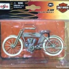 Motos a escala: HARLEY DAVIDSON 1909 TWIN 5D V-TWIN E:1/18 MAISTO. Lote 215484356