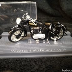 Motos a escala: MOTO ROYAL ENFIELD BULLET 1938. Lote 215890787
