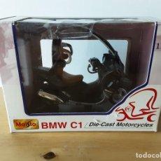 Motos em escala: MOTO MAISTO 1:18 BMW C1.NUEVA.. Lote 216367700