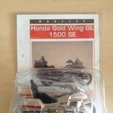 Motos a escala: HONDA GOLD WING GL 1500 SE - MOTO COLECCIÓN SUPER MOTOS NUM. 41. Lote 216867782