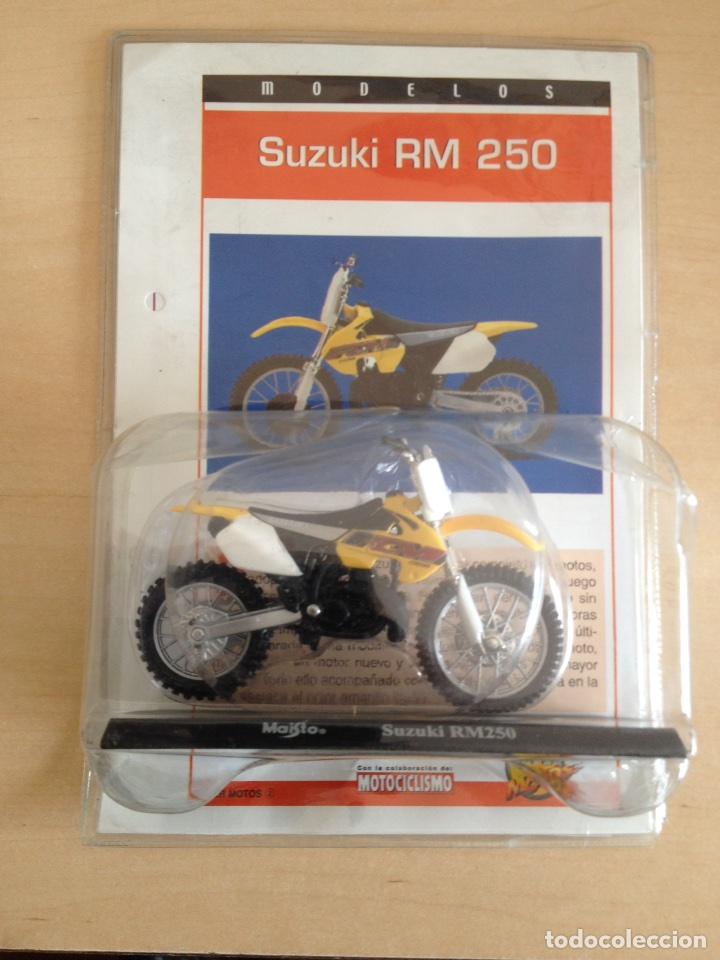 SUZUKY RM 250 - MOTO COLECCIÓN SUPER MOTOS ÚLTIMA ENTREGA (Juguetes - Motos a Escala)