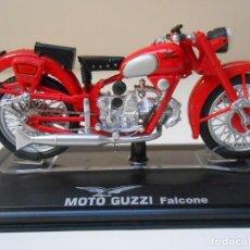 Motos in scale: MOTO GUZZI FALCONE 1/24 1:24 BIKE MOTORBIKE GUZI MOTOCICLETA MINIATURE. Lote 228217690