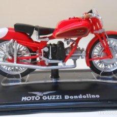 Motos in scale: MOTO GUZZI DONDOLINO 1/24 1:24 BIKE MOTORBIKE MOTOCICLETA GUZI ALFREEDOM. Lote 217340593