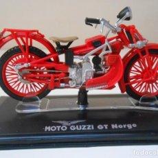 Motos in scale: MOTO GUZZI GT NORGE 1/24 1:24 BIKE MOTORBIKE MOTOCICLETA GUZI ALFREEDOM. Lote 217340618