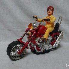 Motos a escala: MOTO DE JUGUETE ELECTRICA AÑOS 70, MADE IN JAPAN, CHOPPER. Lote 217948026