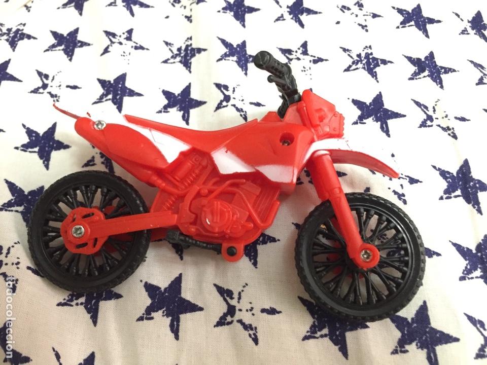 MOTO CROSS PLÁSTICO (Juguetes - Motos a Escala)