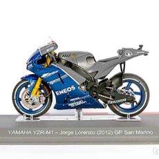 Motos a escala: MOTO GP 2012 - JORGE LORENZO - YAMAHA YZR-M1 - IXO, ALTAYA / N45 (ESCALA 1:18). Lote 218522860