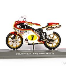 Motos a escala: MOTO GP 1977 - BARRY SHEENE - SUZUKI RG500 (ESCALA 1:18). Lote 218525786