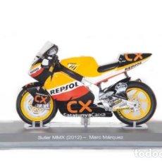 Motos a escala: MOTO GP 2012 - MARC MARQUEZ - SUTER MMX - IXO, ALTAYA / N26 (ESCALA 1:18). Lote 218621943