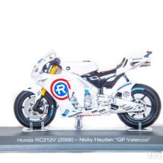 Motos a escala: MOTO GP 2008 - NICKY HAYDEN - HONDA RC212V (ESCALA 1:18). Lote 218624232