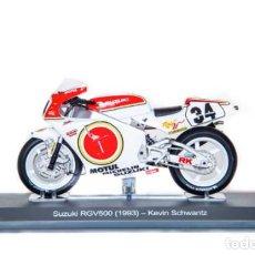 Motos a escala: MOTO GP 1993 - KEVIN SCHWANTZ - SUZUKI RGV 500 / RGV500 - IXO, ALTAYA / N22 (ESCALA 1:18). Lote 218626502