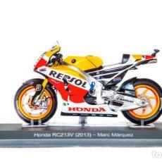 Motos a escala: MOTO GP 2013 - MARC MARQUEZ - HONDA RC213V - IXO, ALTAYA / N21 (ESCALA 1:18). Lote 218627750