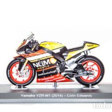 Motos a escala: MOTO GP 2014 - COLIN EDWARDS - YAMAHA YZR-M1 (ESCALA 1:18). Lote 218631158