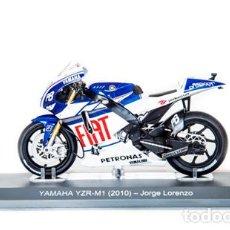 Motos a escala: MOTO GP 2010 - JORGE LORENZO - YAMAHA YZR-M1 - IXO, ALTAYA / N10 (ESCALA 1:18). Lote 218635213