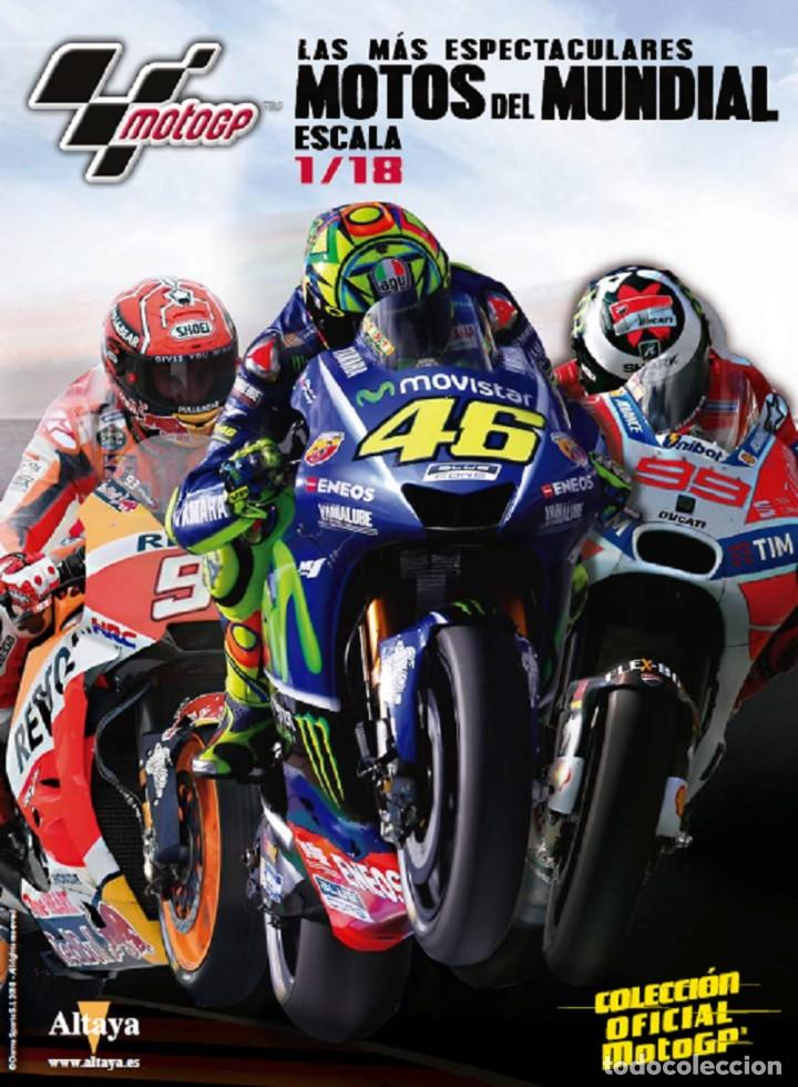 Motos a escala: Gilera RSA250 Marco Simoncelli 2008 1:18 Ixo Salvat Diecast Moto GP - Foto 2 - 218689588