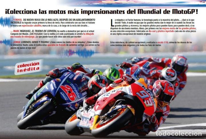 Motos a escala: Gilera RSA250 Marco Simoncelli 2008 1:18 Ixo Salvat Diecast Moto GP - Foto 3 - 218689588