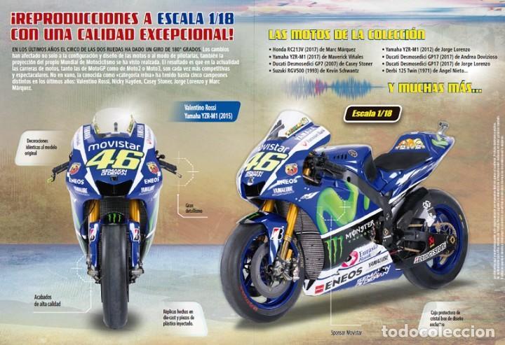 Motos a escala: Gilera RSA250 Marco Simoncelli 2008 1:18 Ixo Salvat Diecast Moto GP - Foto 4 - 218689588